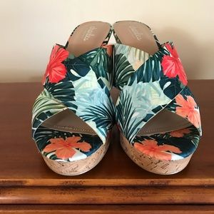 Charles David Shoes - NWOT Charles by Charles David Tropical Wedges